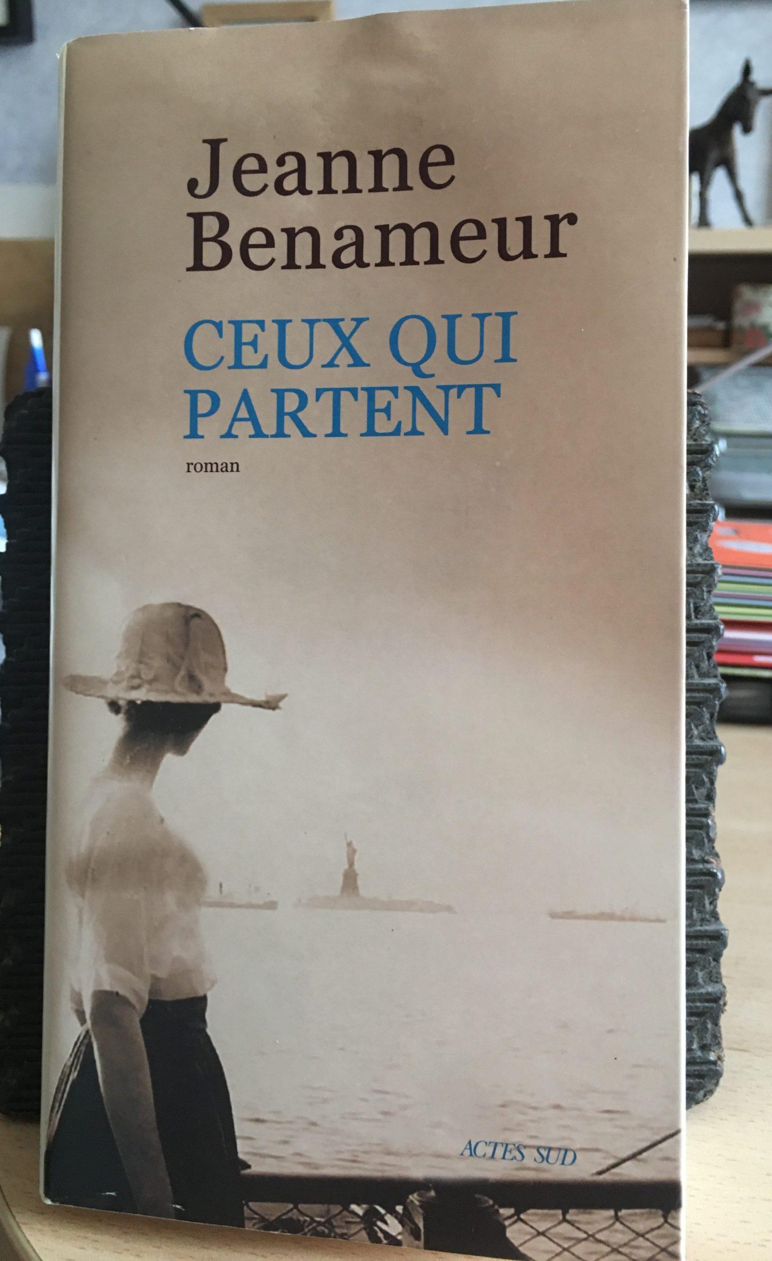 jeanne-benameur roman lecture extrait radio calade villefranche gleizé