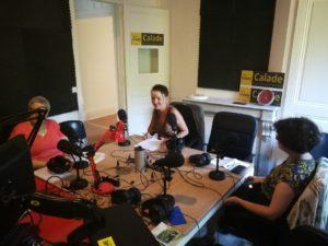 émission vagabondage radio calade associative invités